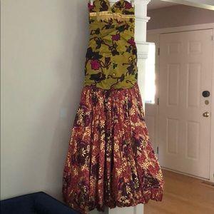 Ankara Dresses - African Ankara dress